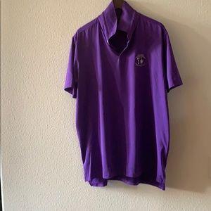 Ralph Lauren men's purple polo US open Pinehurst